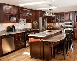 Traditional Dark Wood Kitchen Cabinets Kitchen Cabinets Kitchen Countertops Better Than Granite Light