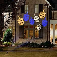 projection lights gemmy lightshow hanukkah whirl a motion led projection