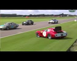 formula 4 crash ferrari 250 gto crash at 2017 goodwood revival looks like an