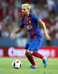 Lionel Messi Leg Sevilla Fc Vs Fc Barcelona Cup 1st Leg Messi