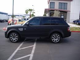 matte black matte black wrap landrover geckowraps las vegas vehicle wraps