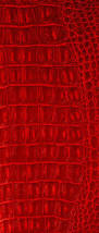 Alligator Upholstery Crocodile Red Two Tone Vinyl Leather Upholstery Fabric