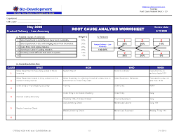 Fishbone Diagram Template Excel by Rca Template Ppt Root Cause Analysis Template 15 Free Word Excel