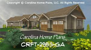 Prairie Style Home Plans Large Craftsman Style House Plan Crft 2953 Sq Ft Luxury Home