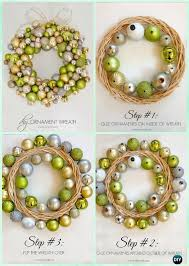 25 unique ornament wreath ideas on diy door wreaths