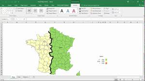 France Regions Map by How To Show Regional Results On Custom Regions Of Excel Map France