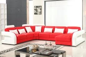 Red Sectional Sofas Rhodes Modular Sectional With Ottoman Red Contemporary Sectional
