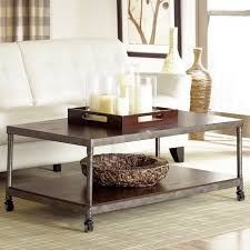 Metal Tray Coffee Table Metal Tray On Coffee Table The Homy Design Wonderful Metal