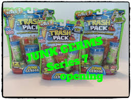 junk germs trash pack series 7 trashies moose toys huge opening