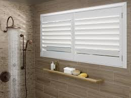 Windows In Bathroom Showers Moisture Resistant Blinds Shades For Bathrooms Carriss Window