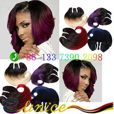 pictures of black ombre body wave curls bob hairstyles find more hair weaves information about unpreocessed 100 brazilian