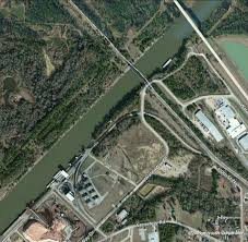 tombigbee waterway map industry and the tennessee tombigbee waterway city of amory