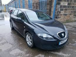 Bargain To by 2006 Seat Leon 1 9 Tdi Stylance 5 Door Black Part Ex Bargain To