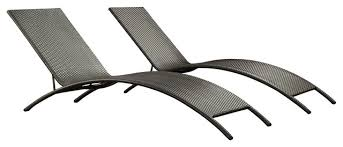 outdoor wicker chaise lounge chairs with modern wicker outdoor