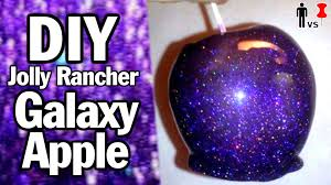 diy galaxy apple man vs pin 33 youtube
