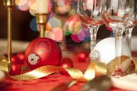 wine glass christmas ornaments christmas table setting in with gold gift as focal