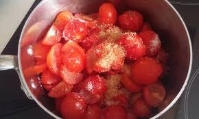 cuisiner des tomates cerises confiture de tomates cerises exquise la fée stéphanie