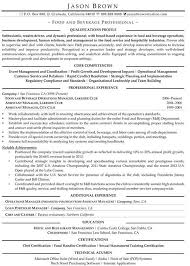 food service resumes food and beverage supervisor resume resume sle
