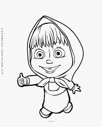 masha and the bear rabbit coloring page wallpaper hd places to