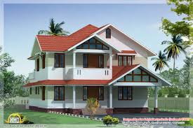 beauty indian style 3d house elevations kerala home design and