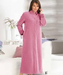 robe de chambre damart robe de chambre molleton polaire antiboulochage bleu femme