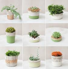 diy planters donna wilson inspired tablescape with diy planters planters