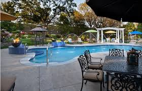 Backyard Swimming Pool Designs by Backyard Pool Landscaping Ideas Home Design Inspiration