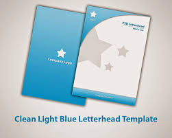 Free Business Letterhead Template Word by 15 Free Vector Psd Company Letter Head Design Template Free