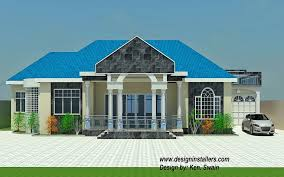 Two Story House Plans With Balconies Shining Design 14 Two Story House Plans In Ghana 2 Storey With