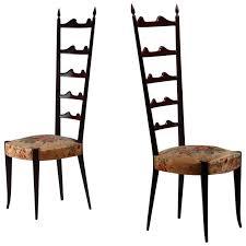mahogany chiavari chair paolo buffa pair of mahogany chiavari chairs italy 1950s for