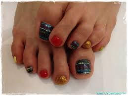 45 childishly easy toe nail designs 2015