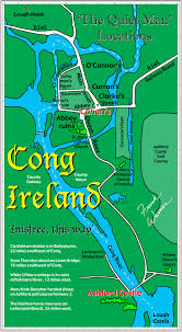 White Castle Locations Map Free Frank Warner Map Of Cong Ireland The Inisfree Of U0027the