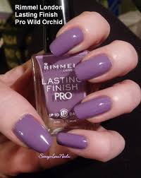 rimmel london lasting finish pro rags to riches and wild orchid