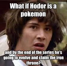 Know Your Meme The Game - hodor pokemon game of thrones know your meme