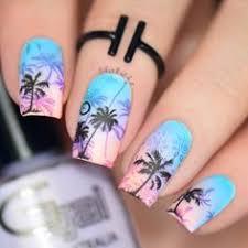 palm tree nail art for the summer nails nail art nail care