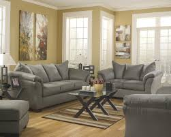 Ashley Living Room Furniture Signature Design By Ashley Darcy Cobblestone Contemporary