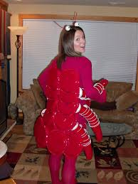 lobster costume answering oliver 2010 the lobster costume