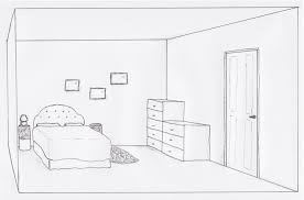 draw a room how to draw 3d furniture drawing art collection 3d room drawing