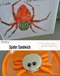 the very busy spider book with snack and simple activity fspdt