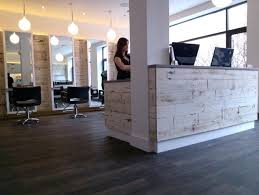 Reception Desk With Display Hair Salon Reception Desk With Display Furniture Interque Co