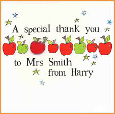 thank you cards for teachers thank you cards for teachers letter format mail