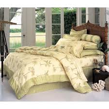 palm tree bedding palm tree 3 pcs king comforter set