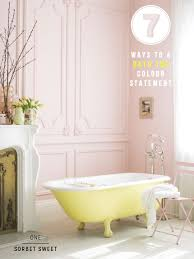 seven ways to perfect a colourful bath tub bright bazaar by will