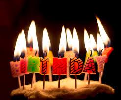 candele scintillanti le candeline di compleanno la ciliegina sulla torta