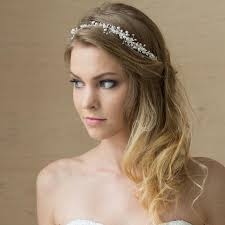 bridal headband bridal hair vine bridal headband pearl headband wedding