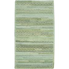 Capel Area Rug Capel Harborview Green 3 Ft X 3 Ft Cross Sewn Area Rug