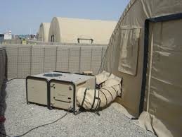 air conditioned tent 3 army technology