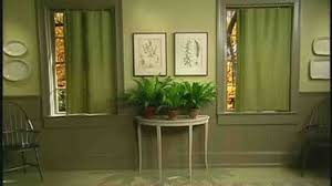 Curtain Panels Video Make Curtain Panels For Your Home Windows Martha Stewart