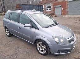 2005 vauxhall zafira 1 9 cdti design 5 door hatchback silver 7