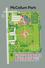 United States Of Baseball Map by Mccollum Park Downers Grove Park District